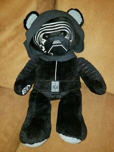 """Build-A-Bear Star Wars 17"""" Kylo Ren The Force Awakens with Stars Wars Sound Box"""