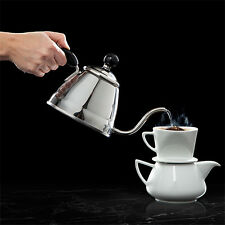 Fino Stainless Steel Gooseneck Kettle Tea Pour Over Coffee Pot Stove Top - Japan