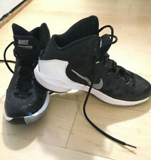NIKE Zoom Without a Doubt Basketball Shoes 749432-002 Black White Men's Size 8