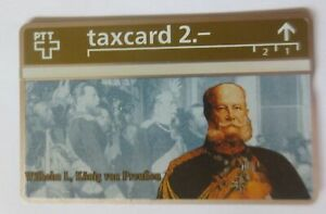 Phone Card Taxcard Wilhelm I King From Prussia