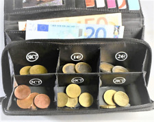 Porte-monnaie Trieur Euros Patch cuir Billets Trieuse Monnaie Organiseur