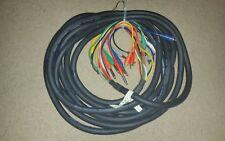 25ZFt. Hosa 8 channel recording snake. Used in a Studio in Atlanta.