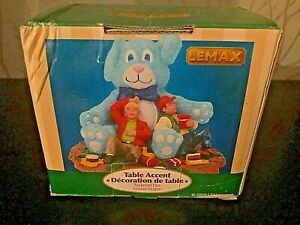 "2008 RETIRED! LEMAX CARNIVAL TABLE ACCENT ""TUCKERD OUT"" #83682 NIB RARE!"