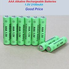 New Rechargeable Battery AAA 1.5V 2100mAh Alkaline Batteries lot