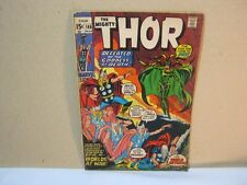 The Mighty Thor Marvel Comics 186 Mar Vintage Comic Book  T*