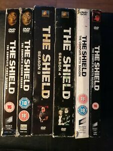 The Shield Season 1-6 DVD Boxset