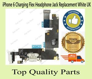 iPhone 6 Charging Flex Headphone Jack Replacement White UK