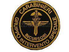G.I.S. Incursori Carabinieri GIS Gruppo Intervento Speciale Patch con Velcro New