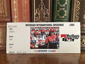 Vintage 1994 PPG Indy Car World Series Marlboro 500 TICKET STUB MIS CART