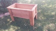 RAISED GARDEN BED Cedar Elevated Planter Box