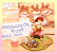 ❤️Wee Forest Folk M-281 Mallowing Out Mouse Mole Hole SPECIAL Limited to 100❤️