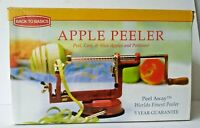 Apple Potato Peeler Corer Slicer by Back to Basics Peel Away with Box Red Classi