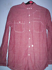 Cedar Wood State Long Sleeve Casual Shirts & Tops for Men