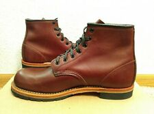 Red Wing 9016 Beckman Cigar Brown Featherstone Leather, 8D, Brand New 2nds