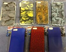 7 FOR 1 MONEY-IPHONE 5-7 ASSORTED SNAP ON FACE PLATES