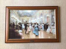 "Vintage Framed Signed ""An Elegant Soiree"" Victor Gabriel Gilbert Painting print"