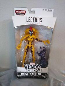 """Marvel Legends BAF~~~Spider-Man Venum's Scream 6"""" Action Figurure~~~NIB"""