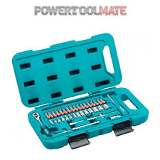 Makita P-90283 Anniversary 40-Piece 1/4in Socket and Ratchet Bit Set