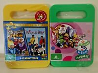 New Sealed 2 x Cold Spaghetti Western & The Wiggles Bay & Dr Seuss DVD Free Post