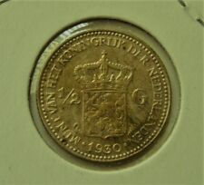 1930 Netherlands 1/2 gulden silver Coin