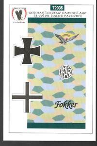 Eagle Strike Decals #72036 1/72 German Lozenge Camouflage Fokker Albatros