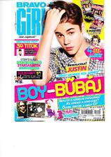 JUSTIN BIEBER, FLO RIDA, NICKI MINAJ , ONE DIRECTION  Hungarian magazine