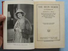 Iron Horse - Photoplay Ed.  John Ford Silent Film Railroad Indian War Epic 1924
