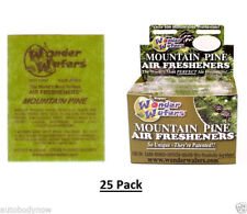 Wonder Wafers (Qty: 25 pack) MOUNTAIN PINE Scent Car Truck Air Freshner Wafer