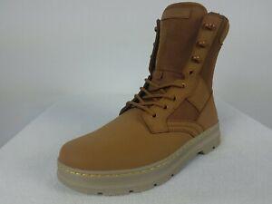 "Dr Martens Air Wair Iowa 8-Eye 7"" Extra Tough Boots Men's 12 Brown Nylon Leather"