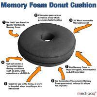 Memory Foam Ring Cushion - Surgical Donut Hemorrhoids Piles Pregnancy Pressure
