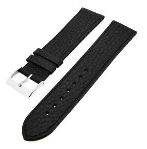 Ersatzband für Uhren Stegbreiten und Farben wählbar Kalbsleder flach mit Naht