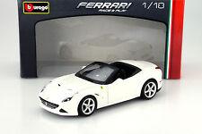Ferrari California T offen Baujahr 2014 weiß 1:18 Bburago