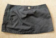Cyberdog pin-striped short skirt ( size: small)
