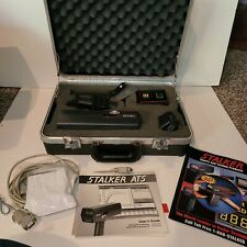 Deluxe Stalker ATS Professional Sport Radar Gun With Case User Guide Car Charger