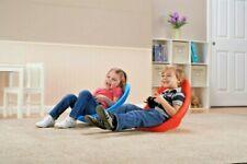 Chair Set Kids Rocking Scoop Red Blue Children Rocker Seat Furniture Play Room