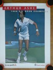 Arthur Ashe Us Open Champion Le Coq Sportif Foot Locker poster