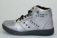 scarpe bambina BALDUCCI 33 sneakers grigio pelle sintetica AVERIS DP55