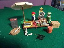 Playmobil 5342 Fischstand  Villa Nostalgie Rosa Serie 5300 ,5305