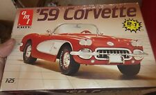 AMT 1959 CHEVY CORVETTE Model Car Mountain KIT OPEN