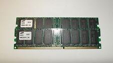 SAMSUNG KOREA 512MB (256x2) DDR PC2100U RAM MEMORY STICK M368L3223DTL-CB0