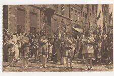 Bruges Procession du Saint Sang Belgium 1920 Vintage Postcard 227a