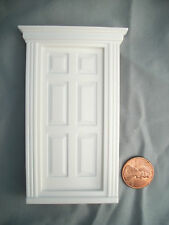 Half Scale 1:24  Georgian Front Door Jackson's Miniatures  Dollhouse plastic #L1
