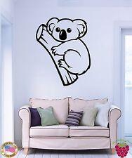 Wall Stickers Vinyl Decal Animals Australia Koala Cute Decor Living Room (z1826)