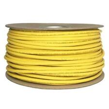 Cat6 Solid LSZH Cable 100m Reel Yellow 100% Copper Data Networking Ethernet