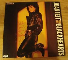 Joan Jett and the Blackhearts Record Signed Auto Up your Alley COA PSA