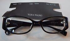 Vera Wang V160 Tortoise 50/17 Eyeglass Frame New