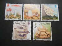 Isle of Man 1995 Commemorative Stamps~Fungi~Very Fine Used Set~UK Seller