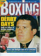 JULIO CESAR CHAVEZ BOXING BOXING NEWS MARCH 1998 MAGAZINE NO LABEL