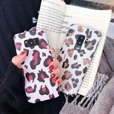 Luxury Phone Case Samsung Fashion Shell Soft  Leopard Print