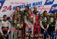 Fassler & Lotterer & Treluyer Audi R18 TDi Winners Le Mans 2011 Photograph 21